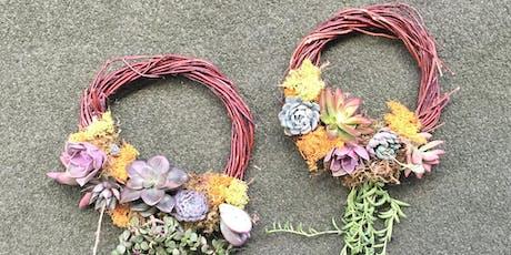 Grapevine Succulent Wreath Workshop tickets