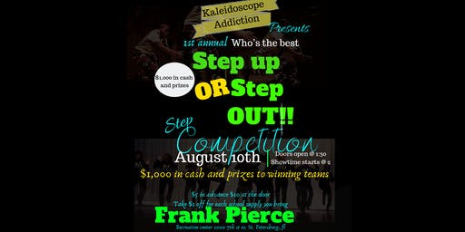 1st  annual Step up or Step out Step Competition