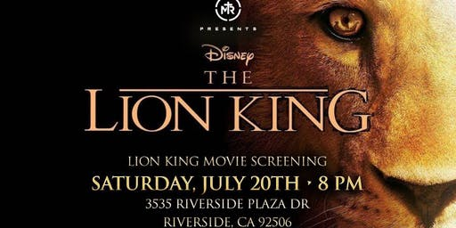 The Lion King Movie Screening