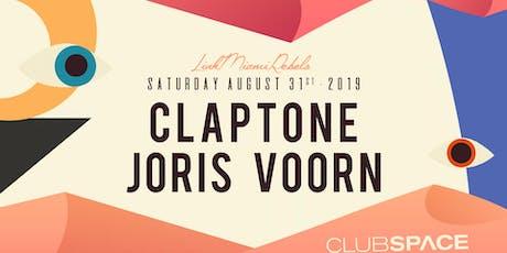 Claptone + Joris Voorn tickets