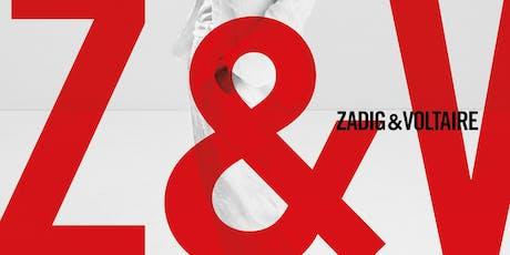 Zadig & Voltaire Warehouse Sale tickets
