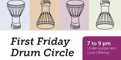 First Friday Drum Circle with Joel Jadus