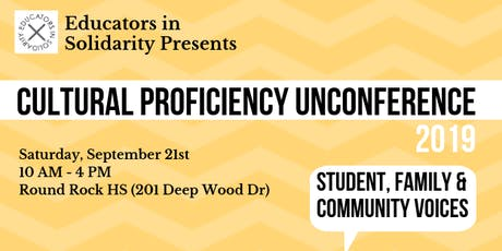 ATX Fall Cultural Proficiency UnConference (EdCamp) tickets