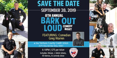 BARK OUT LOUD COMEDY NIGHT 2019 tickets