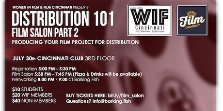 WIF Film Salon Part 2: Distribution 101 tickets
