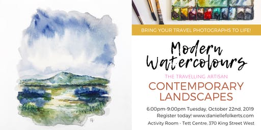Modern Watercolours: Contemporary Landscapes