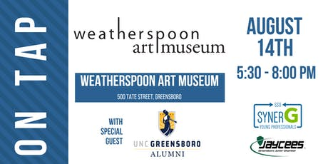 August On Tap: Weatherspoon Art Museum with special guest UNCG Alumni tickets