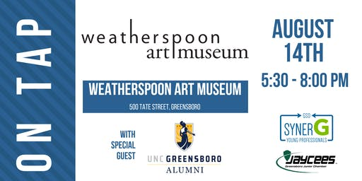 August On Tap: Weatherspoon Art Museum with special guest UNCG Alumni
