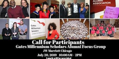 Gates Millennium Scholars Alumni Association Focus Group tickets