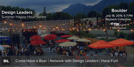 Design Leaders Summer Happy Hour Series| Boulder