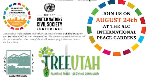 68th Annual UNSCS Tree Planting & Clean up - International Peace Gardens