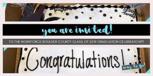 Workforce Boulder County HSED Graduation Celebration!