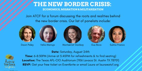 The New Border Crisis: Economics, Migration & Militarization tickets