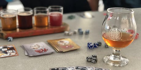 Board Game Night at Three Heads Brewing tickets