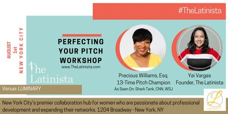 Perfect Your Pitch Workshop tickets