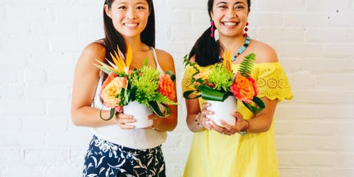 Brews and Summer Blooms at Steady Hand Beer