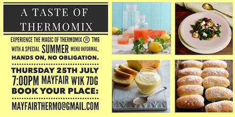 Thermomix: A Taste of Thermomix in summer tickets