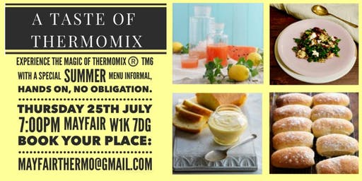 Thermomix: A Taste of Thermomix in summer