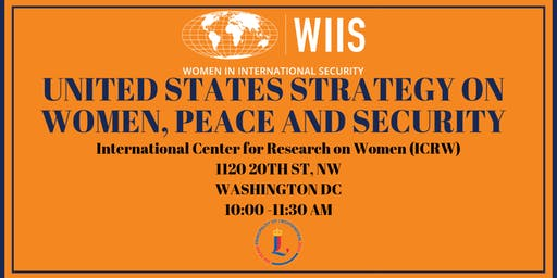 United States Strategy on Women, Peace & Security Policy Roundtable