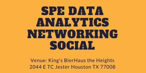 Data Analytics Networking Social of Society of Petroleum Engineers(SPE GCS)