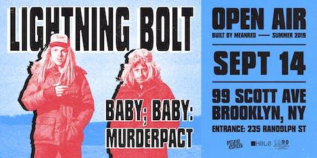 Lightning Bolt tickets