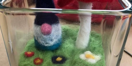 Needle Felted Gnome Terrariums tickets