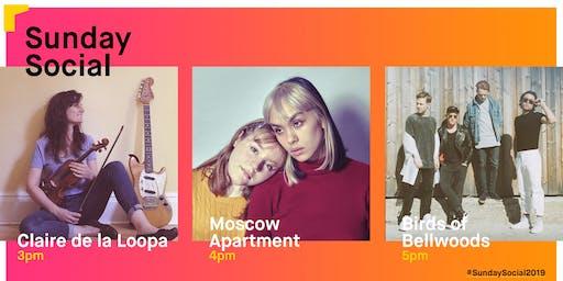 Sunday Social: Claire de la Loopa / Moscow Apartment / Birds of Bellwoods