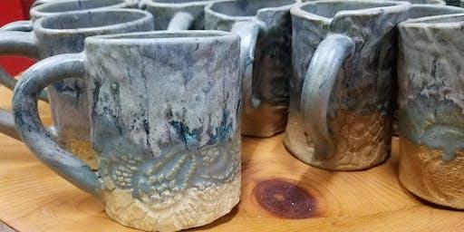 7:30 July - Make a Stein or Mug Class @ Night Market