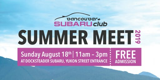 Vancouver's Subaru Club Meet hosted by Docksteader Subaru