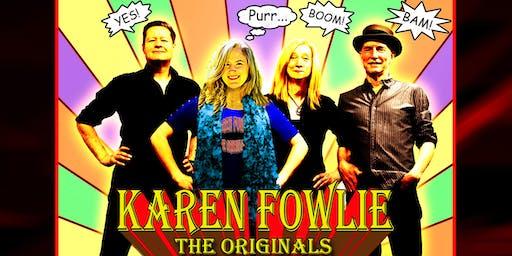 KAREN FOWLIE - THE ORIGINALS: Summer Concert and BBQ#1