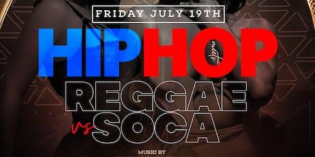 HIP HOP MEETS REGGAE AT AMADEUS NIGHTCLUB JULY 19TH  tickets