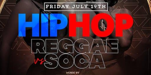 HIP HOP MEETS REGGAE AT AMADEUS NIGHTCLUB JULY 19TH