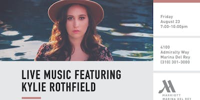 Live Music at Sinder Lounge with Kylie Rothfield