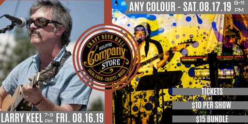 Any Colour and Larry Keel at Eclipse