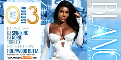 BLANCO THE ALL WHITE DAY PARTY AT AMADEUS NIGHTCLUB #GQEVENT  tickets