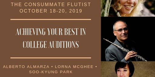 TCF October - College Audition Weekend Workshop 2019