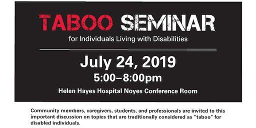 Taboo Seminar