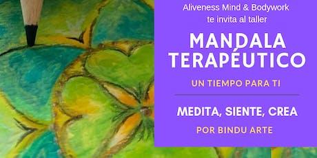 Tiempo para ti. Taller de Mandala Terapéutico entradas
