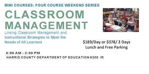 Classroom Management Mini Series