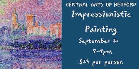 Impressionistic Painting tickets
