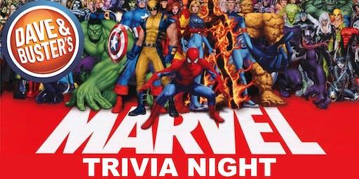 D&B Albuquerque Thursday Night Trivia - Marvel