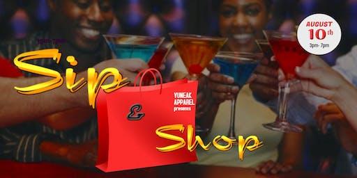 Sip & Shop  with Yuneak Apparel