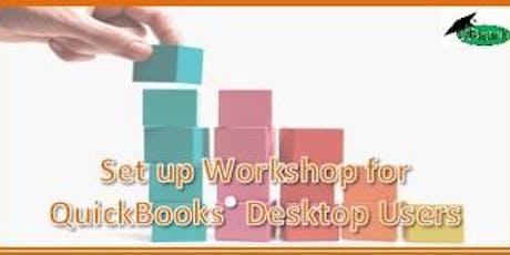 Set up Workshop for QuickBooks Desktop Users tickets