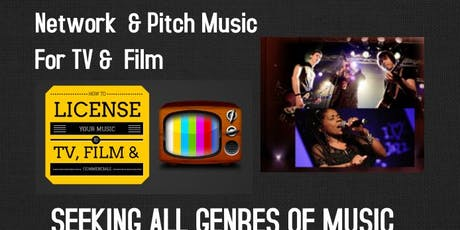 TV FILM SONG PITCH-A-THON & Networking Event:  Big Summer N Y C  tickets