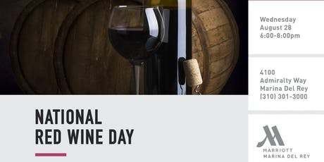 National Red Wine Day tickets