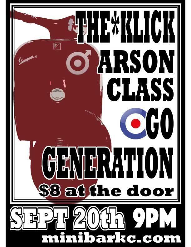 Go Generation / Arson Class /The Klick