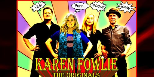KAREN FOWLIE - THE ORIGINALS: Summer Concert and BBQ #2