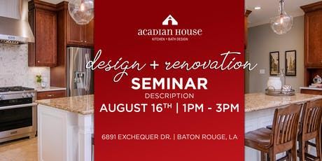 Home Renovation + Design Seminar tickets