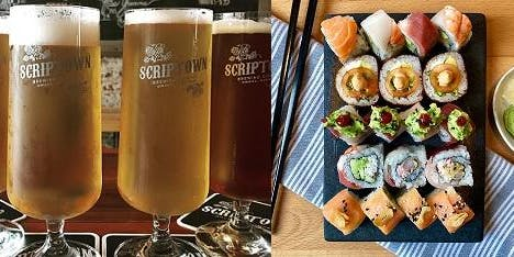 Butterfish Sushi & Scriptown Beer Pairing
