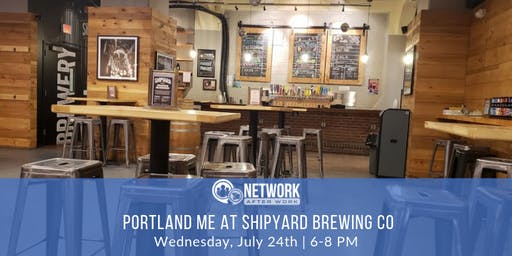 Network After Work Portland ME at Shipyard Brewing Company